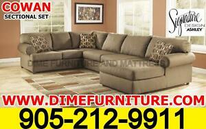 BLACK FRIDAY SALE Ashley's Cowan sectional set FREE SHIPPING