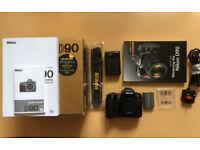 Nikon D90 Digital Camera.