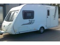 SWIFT SAFARI 230 LUXURY TWO BERTH TOURING CARAVAN 2011 VERY GOOD CONDITION WELL EQUIPPED