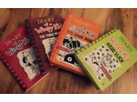 Wimpy Kid book collection