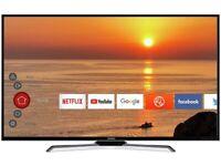1 year old 50 inch tv full smart 4k