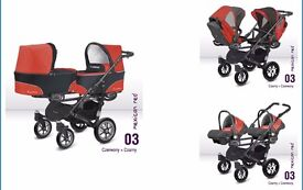 PUSHCHAIRS DUBLE 4IN1
