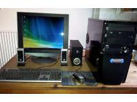 PC Desktop Tower. Athlon II, 3Ghz (dual core)