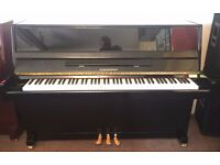 Steinmayer Upright Pianos ~ As New Demonstration Models ~ Black Polish ~ Free Stool and Delivery!