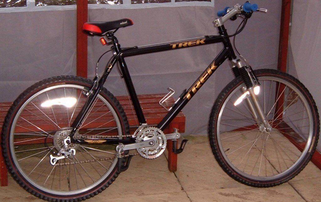 24 speed Trek 6000 bike/bicycle, ajustable front suspension. refurbished, bargain