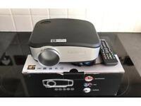 Mini led full hd 1080p multimedia tv projector
