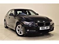 BMW 3 SERIES 2.0 318D SPORT 4d 141 BHP + AIR CON + CLIMATE CONT (black) 2012