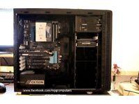 Gaming PC i5-4690K 4.2GHz,16GB RAM,NEW GTX 1060 6GB,120GB SSD+2TB HDD,Fractal Case + Corsair CX750M.