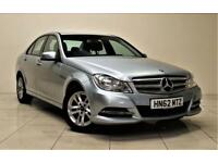 MERCEDES-BENZ C CLASS 2.1 C200 CDI BLUEEFFICIENCY EXECUTIVE SE 4d 135 BHP (silver) 2012