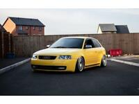 Audi S3 Show car, Air ride, Rotiform, 260bhp