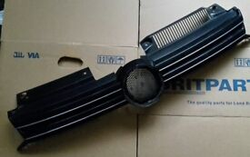 GENUINE VW GOLF MK6 2008-2013 FRONT BUMPER GRILLE WITH CHROME STRIPS 5K0853651