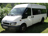 2005 Ford Transit 17 seat LWB Minibus