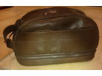 Leather Shoe Cleaning/Toilet Bag