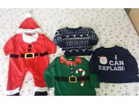 Baby boy Christmas clothing 6-9 months