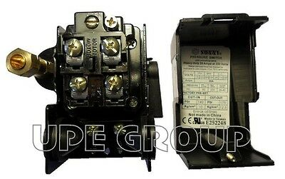 Heavy Duty Pressure Switch For Compressor Replaces Furnas Square D 140-175