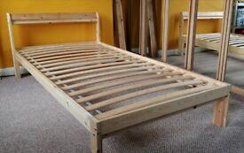 Single Bed Frame LUROY Ikea ( 2 mattresses SULTAN)