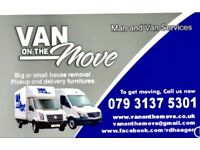 Man and van services All London