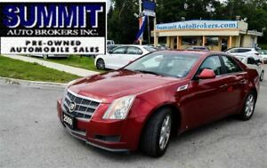 2009 Cadillac CTS 4   AWD   CAR-PROOF CLEAN   LEATHER   BLUETOOT
