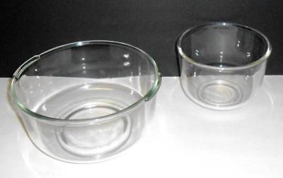 Oster Kitchen Center Sunbeam Large & Small Glass Mixing Bowls
