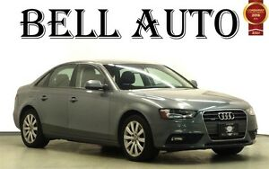 2013 Audi A4 2.0T PREMIUM PKG LEATHER SUNROOF