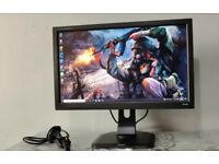 "iyyama Prolite 24"" monitor LED Full HD 1080p HDMI dvi vga ideal for gaming pc computer cctv etc"
