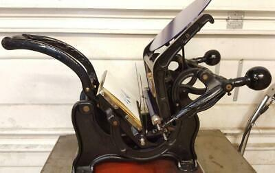 Model 3 6x9 Tabletop Letterpress Wextras Pilot Kelsey Daugaday Iron