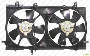 Cooling Fan Assembly With Turbo Subaru Forester 2003-2005