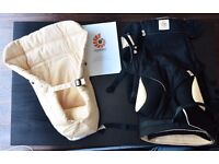 Ergobaby 360 Bundle of Joy Baby Carrier, Black/Camel, with Insert - Unused and Unboxed - £85