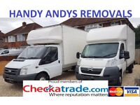 Handy Andys Man and Van Removal Service / Delivery & Removals UK Europe home flat office southampton