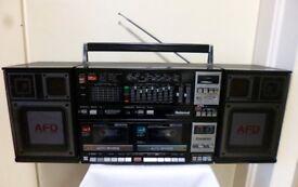 National Panasonic RX-CW200F Vintage Boombox/Ghetto Blaster