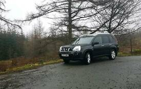 57 plate 2008 t31 nissan x trail fully loaded.