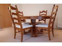 **PRICE REDUCED!!** Dining Table & 4 Chairs