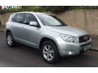 2008 TOYOTA RAV-4 2.2 D-4D X-TR DIESEL 5DR JEEP HISTORY 6 MONTHS WARRANTY PX WELCOME