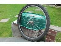 "26""front mtn bike wheel £10"