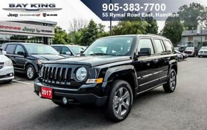 2017 Jeep Patriot 4X4, BLUETOOTH, AIR CONDITIONING, TOW HOOKS, A