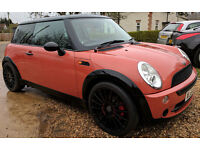 Mini Cooper 1.6L Petrol (2004) | 12 Months MOT | Manual 5spd | Sunroof | 61k Mileage!