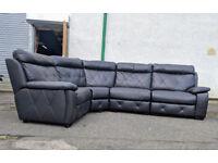 SCS brown corner sofa reversible