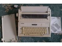 Brother Electronic Typewriter Model AX-130 - COLLECT SUNDERLAND - Word Processor