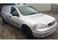 Vauxhall Astra van 2.0dti 2002(52) very clean for age