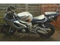 Yamaha R6 S registered