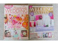 Wedding magazines to make a handmade wedding