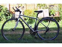Specialized Sirrus Sport Womens Hybrid Road Bike (S) Super Light A1 Aluminium & Accessories