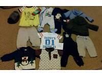 3 - 6 month boys clothes bundle