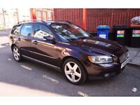 Volvo V50 6 speed manual gearbox ALL parts available Alloys doors interior Leather seats