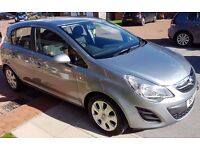 Vauxhall Corsa 1.2 i 16v Excite Easytronic 5dr (a/c), automatic, 2011, excellent condition, £4,295