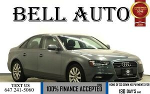2013 Audi A4 2.0T PREMIUM PKG 75KMS! SUNROOF LEATHER INTERIOR