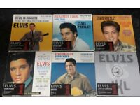 6 Rare Limited Edition Elvis Presley Singles from the Uk No1's Box Set