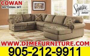 Summer Sale Ashley's Cowan sectional set