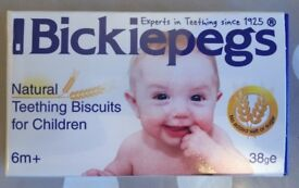 Bickipegs natural teething biscuits for Children 6m+ (FFSP)