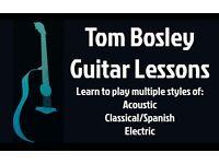 Beginner-Intermediate Guitar Lessons